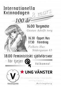 8 mars V UV Helsingborg