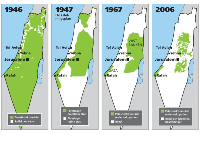 karta israel och palestina Utan rättvisa, ingen fred | Vänsterpartiet Helsingborg karta israel och palestina